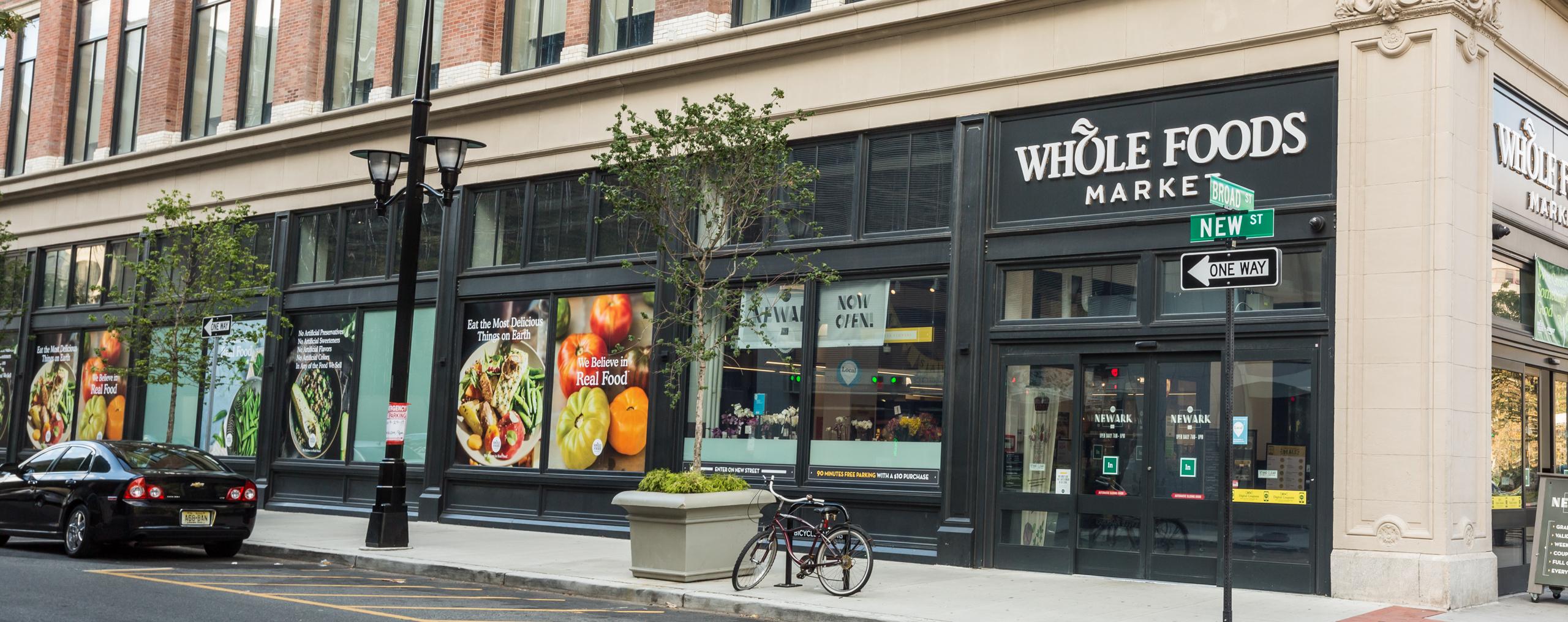wholefoods markent in newark nj